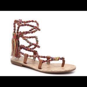 Circus by Sam Edelman wrap around sandals